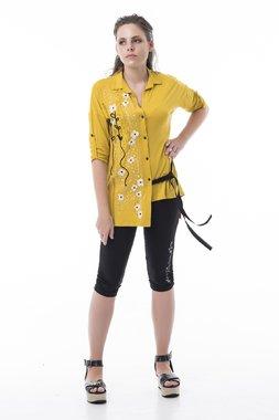 Mamatayoe Pitigliano Dámská košile žlutá