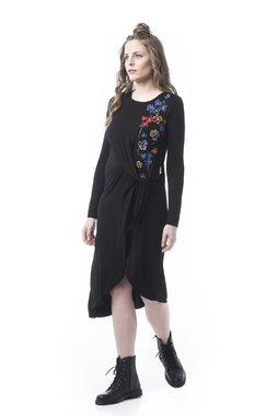 Mamatayoe Praline Dámské šaty černé