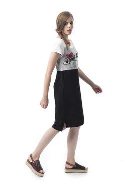 Mamatayoe Revolutionary Road Dámské šaty černé