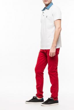 Ryujee RYPL 7002 polo tričko bílá