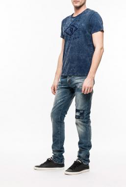 Ryujee RYTS 4009 tričko modrá