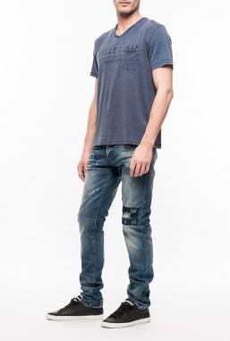 Ryujee RYTS 4040 tričko modrá