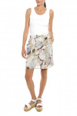 Mismash BATIDO sukně béžová se vzorem