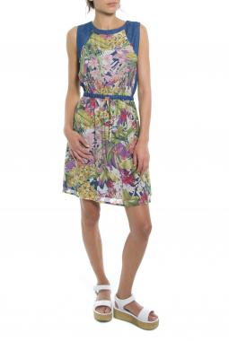 Mismash JEDINA krátké šaty pestrobarevné