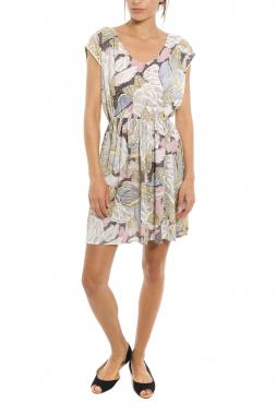 Mismash BLOIS dámské krátké šaty béžové