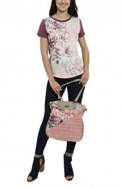 Smash PIMO kabelka růžová jedna velikost