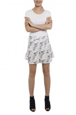 Smash SAVU šortky bílé se vzorem