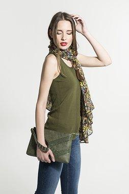 Smash BALSAMO kabelka tmavě zelená jedna velikost