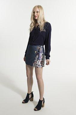 Smash IONA Dámská sukně modrá
