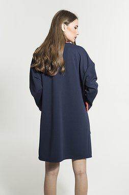 Smash DAZZLER Dámský kabát tmavě modrá