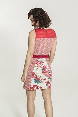 Smash PAPOILA Dámské šaty červená