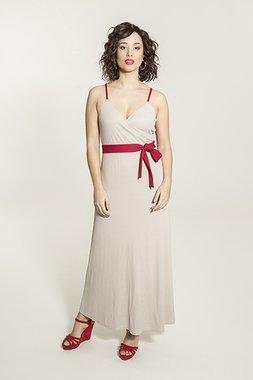 Smash OTAVIA Dámské šaty béžová