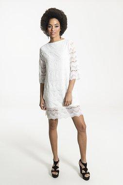 Smash RENATA Dámské šaty bílá