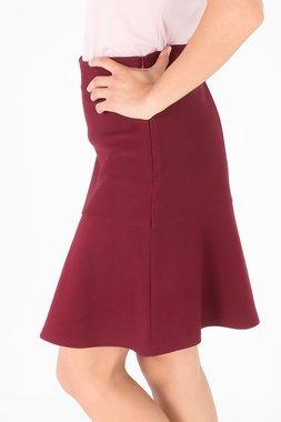 Smash WHITNEY Dámská sukně tmavě červená
