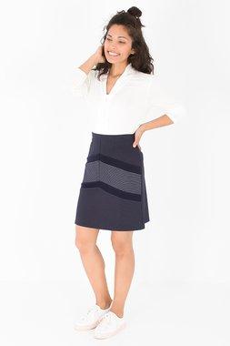 Smash LEONA Dámská sukně tmavě modrá