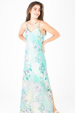 Smash LINARIA Dámské šaty zelená