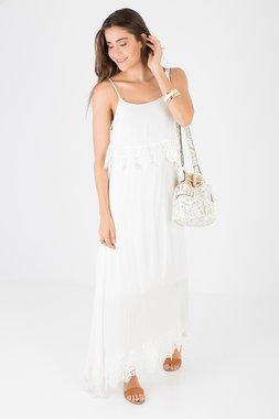 Smash GENASIS Dámské šaty bílé