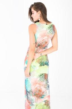 Smash JEWEL Dámské šaty s barevným vzorem