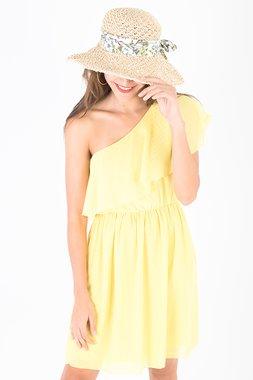 Smash BRIDGET Dámské šaty žlutá