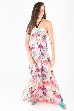 Smash ELEANOR Dámské šaty bílé se vzorem