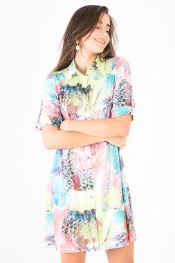 Smash JOSEPHINE Dámské šaty s barevným vzorem
