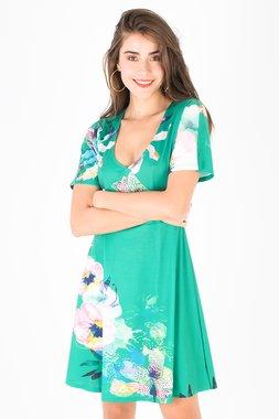 Smash DIANA Dámské šaty zelené