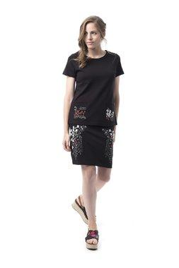 Mamatayoe Soledades Dámské tričko černé