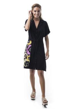 Mamatayoe Sortelha Dámské šaty černé