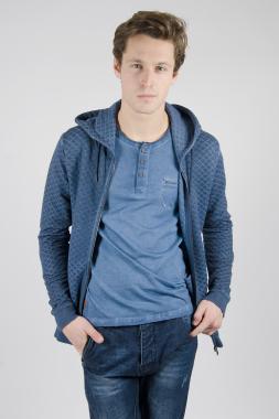 Ryujee Steven mikina-bunda modrá