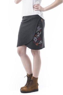 Mamatayoe Tavoletta Dámská sukně tmavě šedá