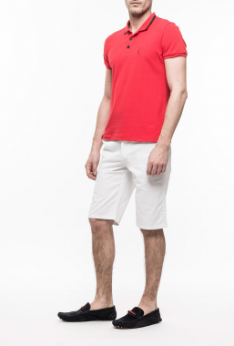 Ryujee TEDDY polo tričko červená