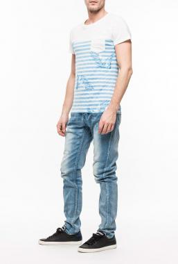 Ryujee TOMA tričko světle modrá