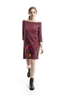 Mamatayoe Tulla Dámské šaty růžové