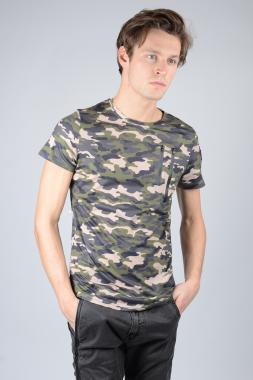 Ryujee Tylian tričko khaki