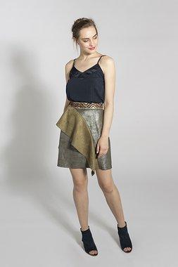 Smash SAPARUA Dámská sukně tmavě zelená