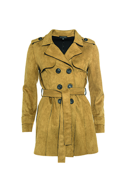 Smash BANGGAI Dámský kabát žlutý
