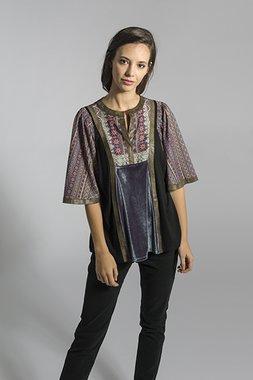 Smash KALSOY Dámské tričko fialové