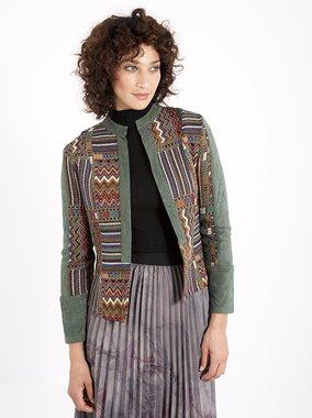 Smash HANSON Dámská kabátek tmavě zelený