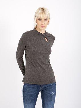Smash PESKI Dámské tričko tmavě šedé
