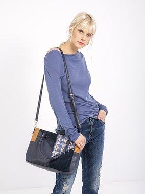 Smash REAGAN Dámská kabelka tmavě modrá jedna velikost