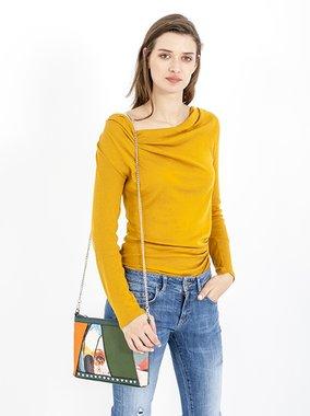 Smash BERBERIS Dámská kabelka oranžová jedna velikost