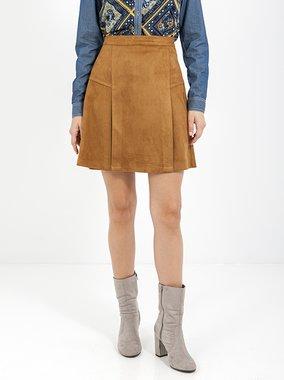 Smash TATIANA Dámská sukně hnědá