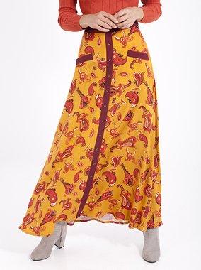 Smash GINGER Dámská sukně hořčicová