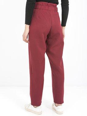 Smash CECILY Dámské kalhoty tmavě červené