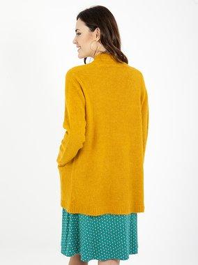 Smash DEVEN Dámský svetr žlutý