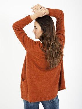 Smash DEVEN Dámský svetr oranžový