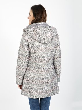 Smash MULAN Dámský kabát šedý