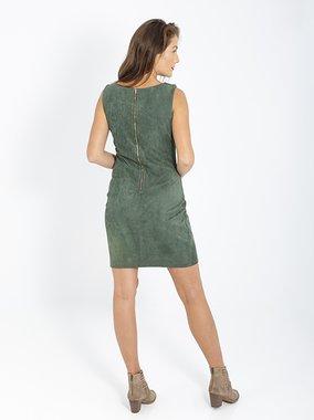 Smash CAMPES Dámské šaty tmavě zelené