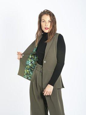Smash ESTHER Dámská vesta zelená