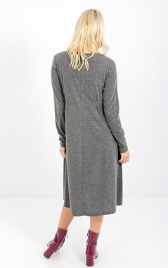 Smash CORAL Dámské šaty šedé